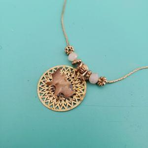 Jewelry - Steampunk snake vertebrae gold choker